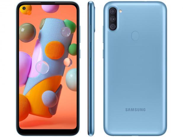 Smartphone Samsung Galaxy A11 64GB Azul