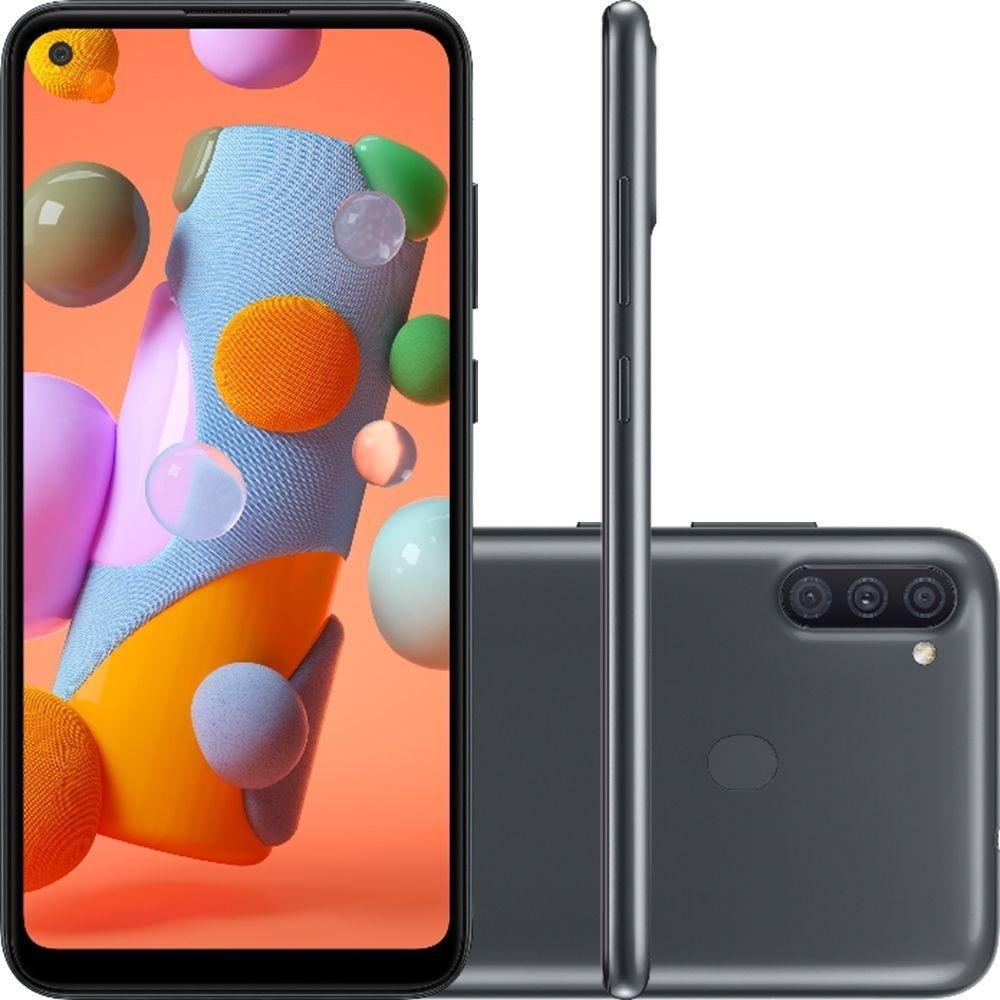 Smartphone Samsung Galaxy A11 A115 64GB 4G Preto