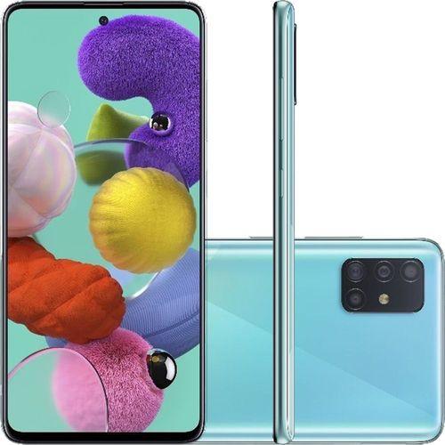 Smartphone Samsung Galaxy A51 Azul 128GB, Tela Infinita de 6.5