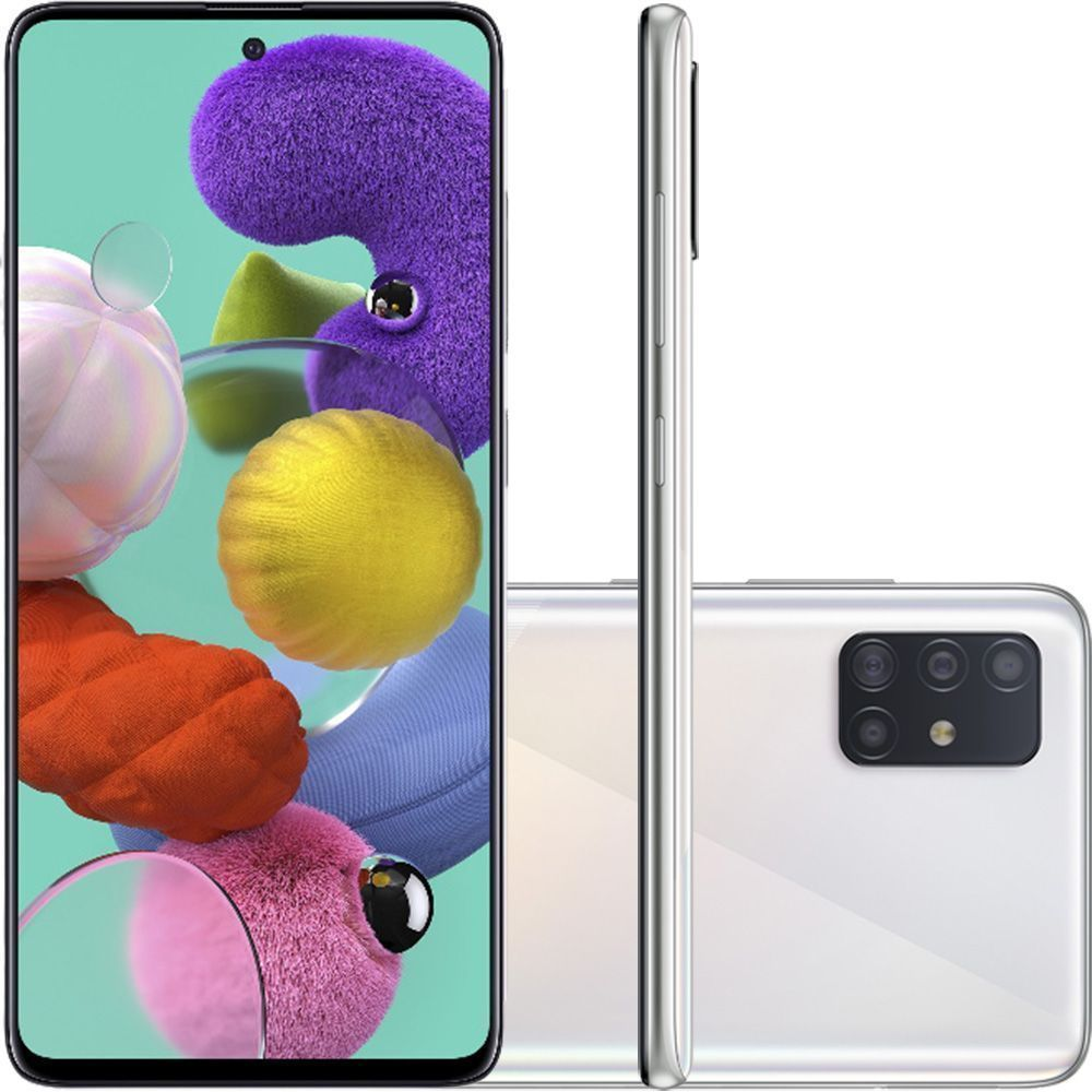 Smartphone Samsung Galaxy A51 128GB 4G Branco