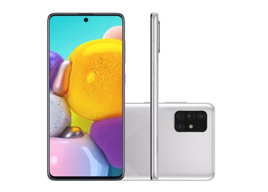 Smartphone Samsung Galaxy A71 128GB 6GB Cinza