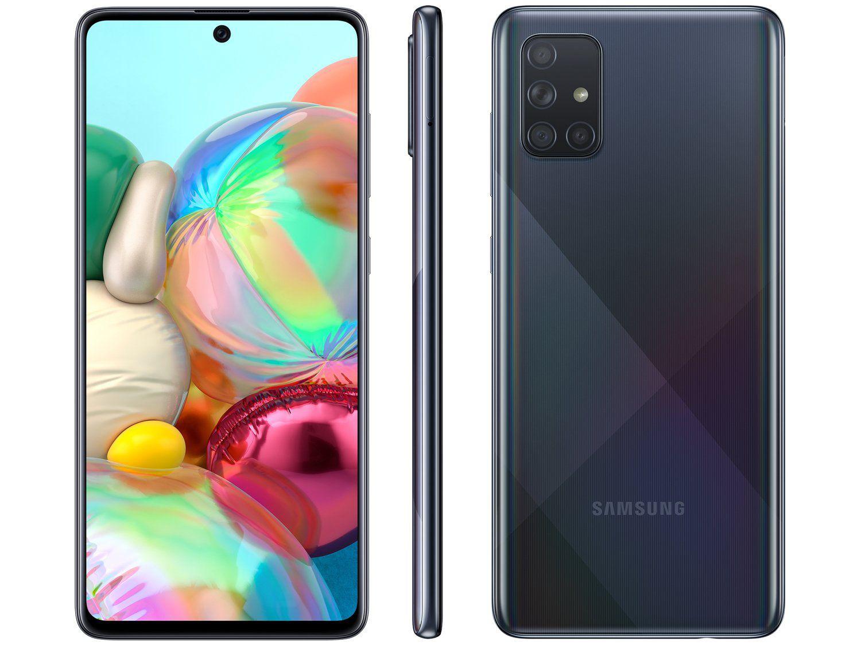 Smartphone Samsung Galaxy A71128GB 6GB Preto