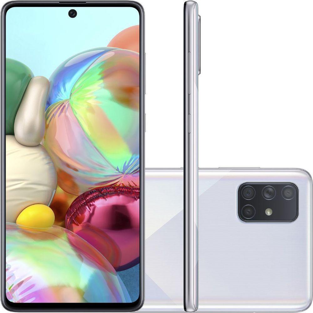 Smartphone Samsung Galaxy A71 128GB 4G Prata