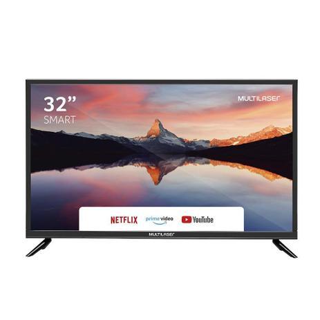 TV Multilaser 32 HD c/ Conversor TL011
