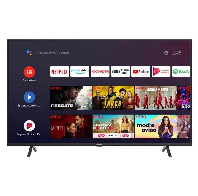 Smart TV LED 55 4K UHD Panasonic TC-55HX550B