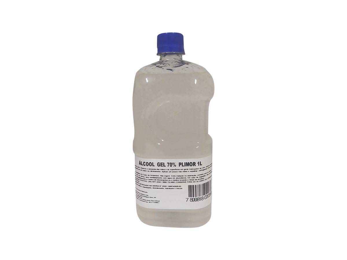Álcool em Gel 70% Plimor 1 Litro