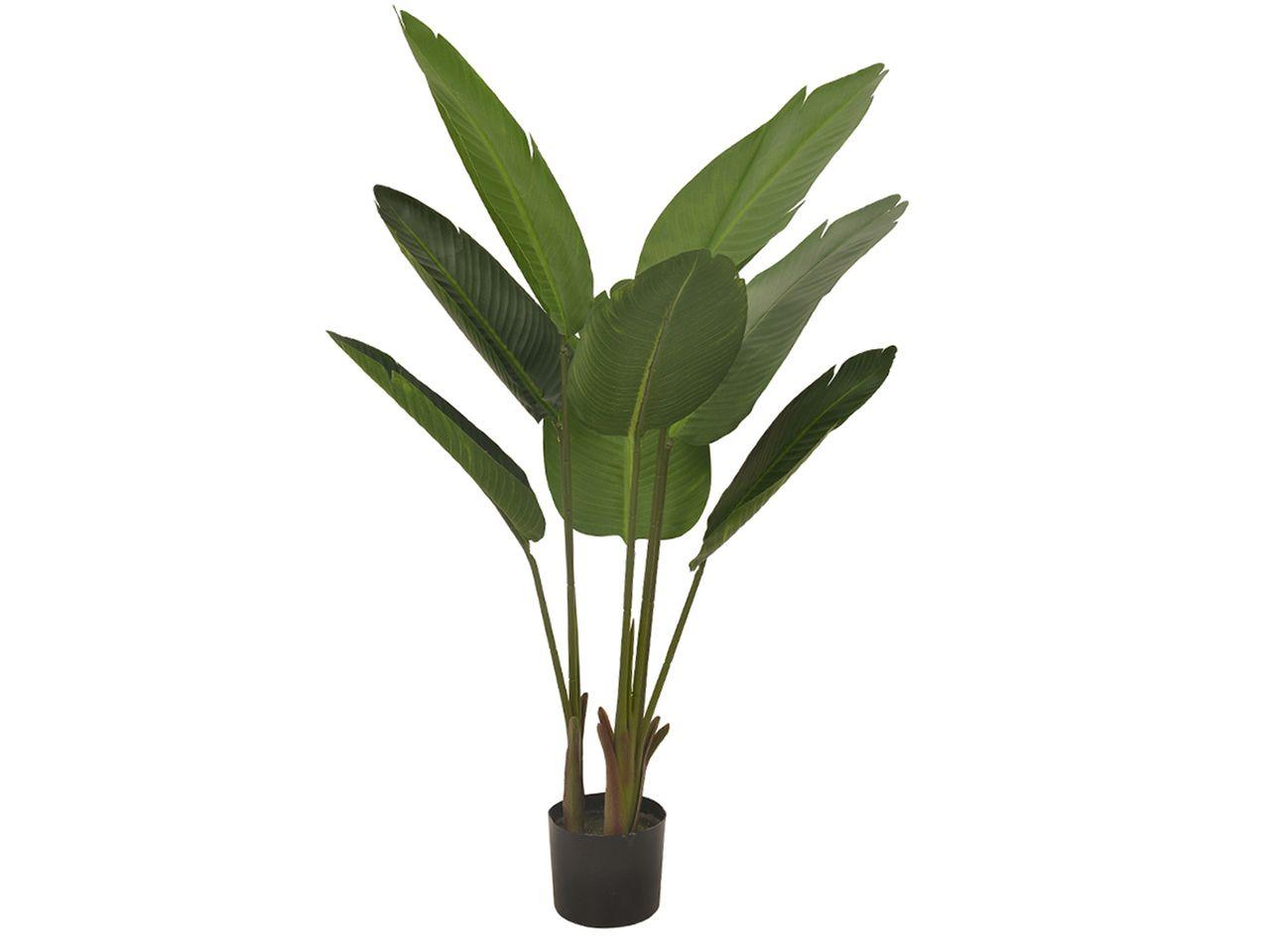 Árvore Artificial Bananeira Decorativa Permanente 1,20M