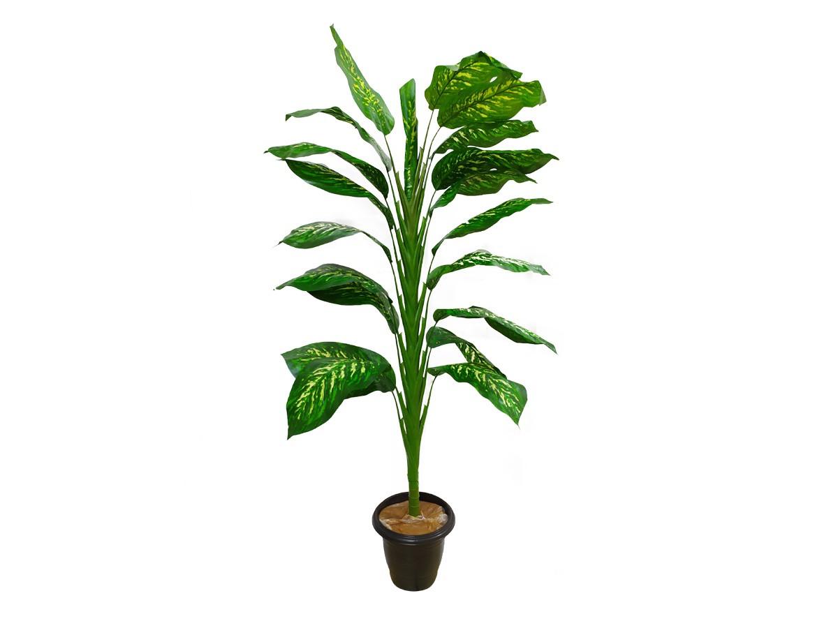 Árvore Artificial Comigo Ninguem Pode Verde 1,47M 20 Folhas