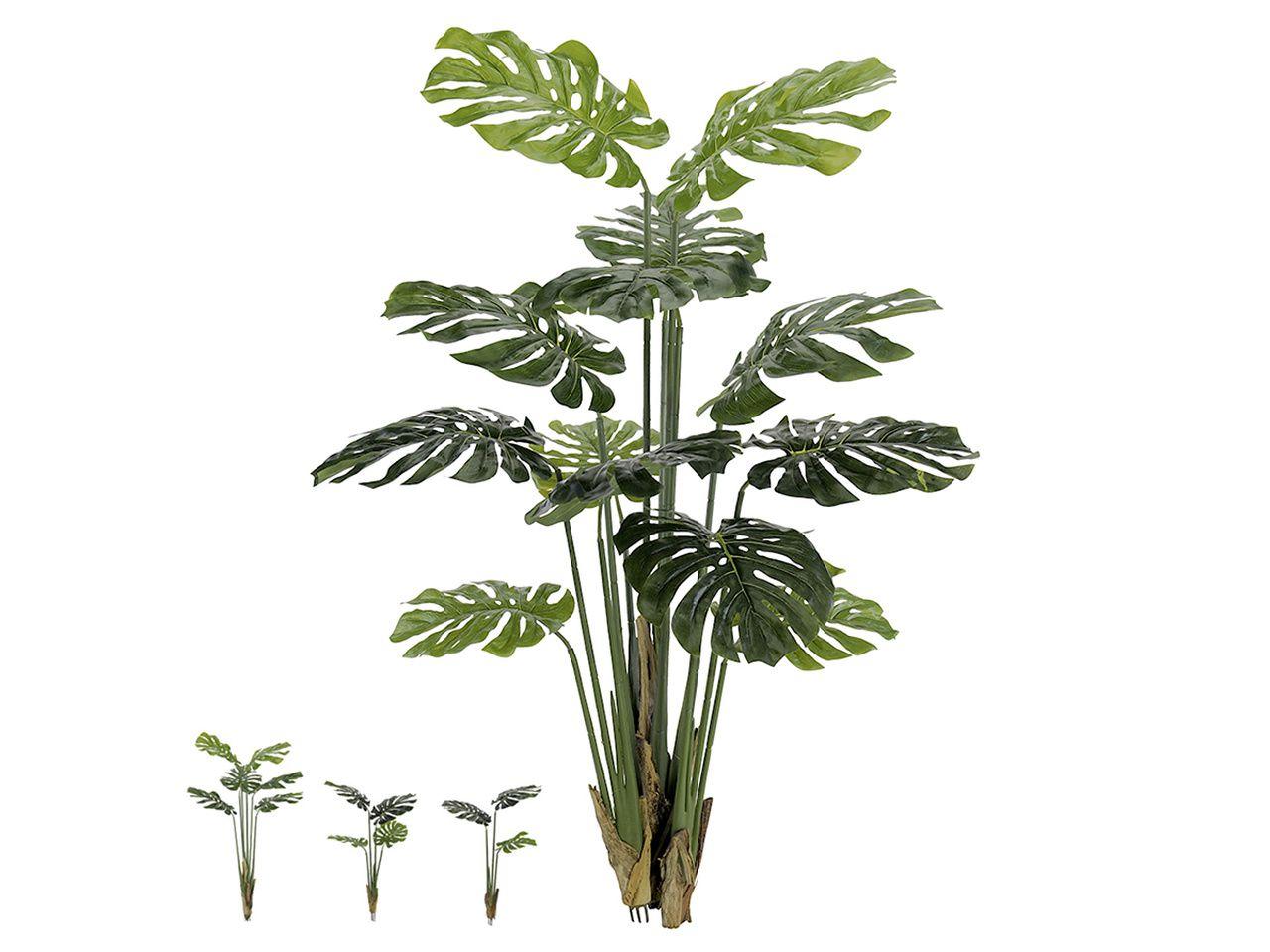 Árvore Artificial Costela De Adão Verde 1,4M 13 Folhas