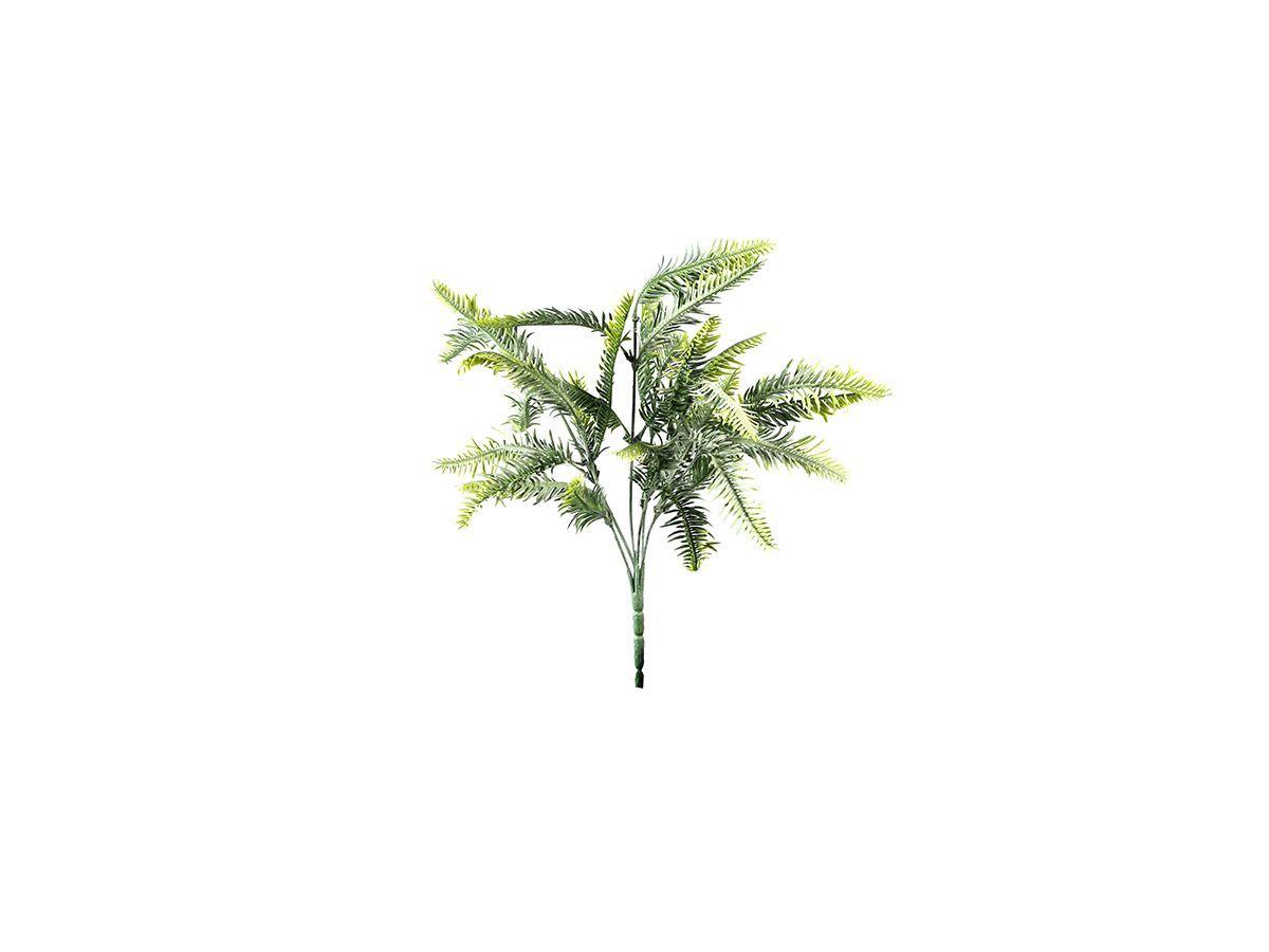 Buquê Samambaia Verde c/ 6 Galhos 33Cm