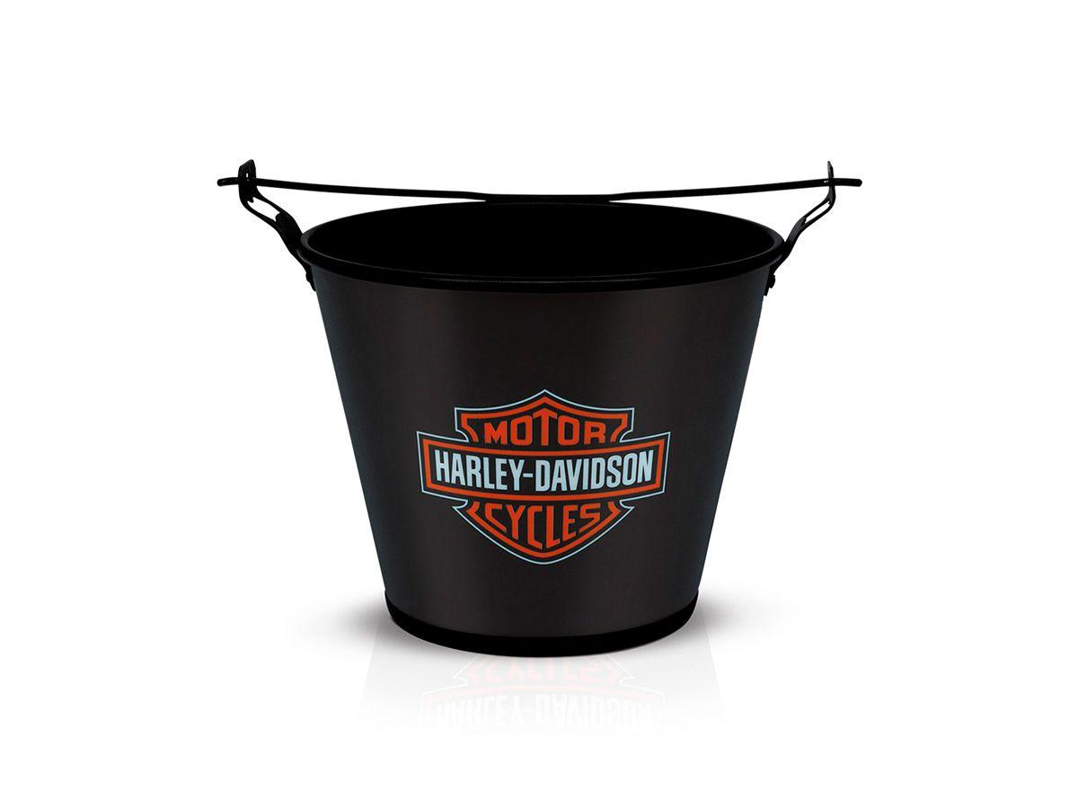 Balde Harley Davidson Black 5 Litros