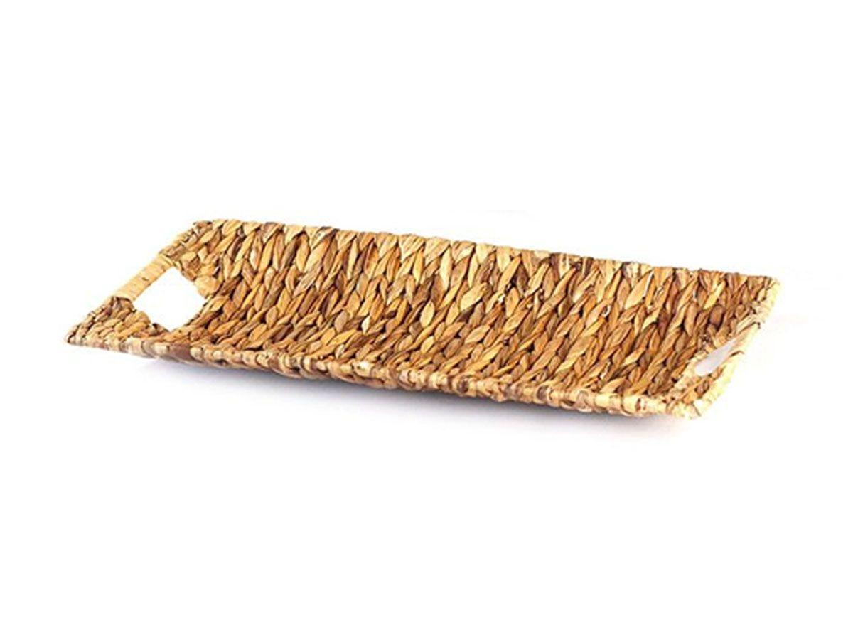 Bandeja em Palha Retangular - 58 x 29 cm