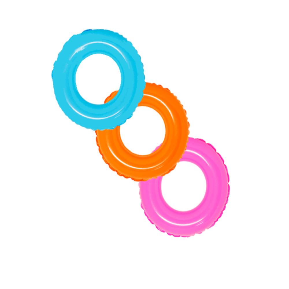 Boia De Cintura Infantil Colors Piscina Dm Toys