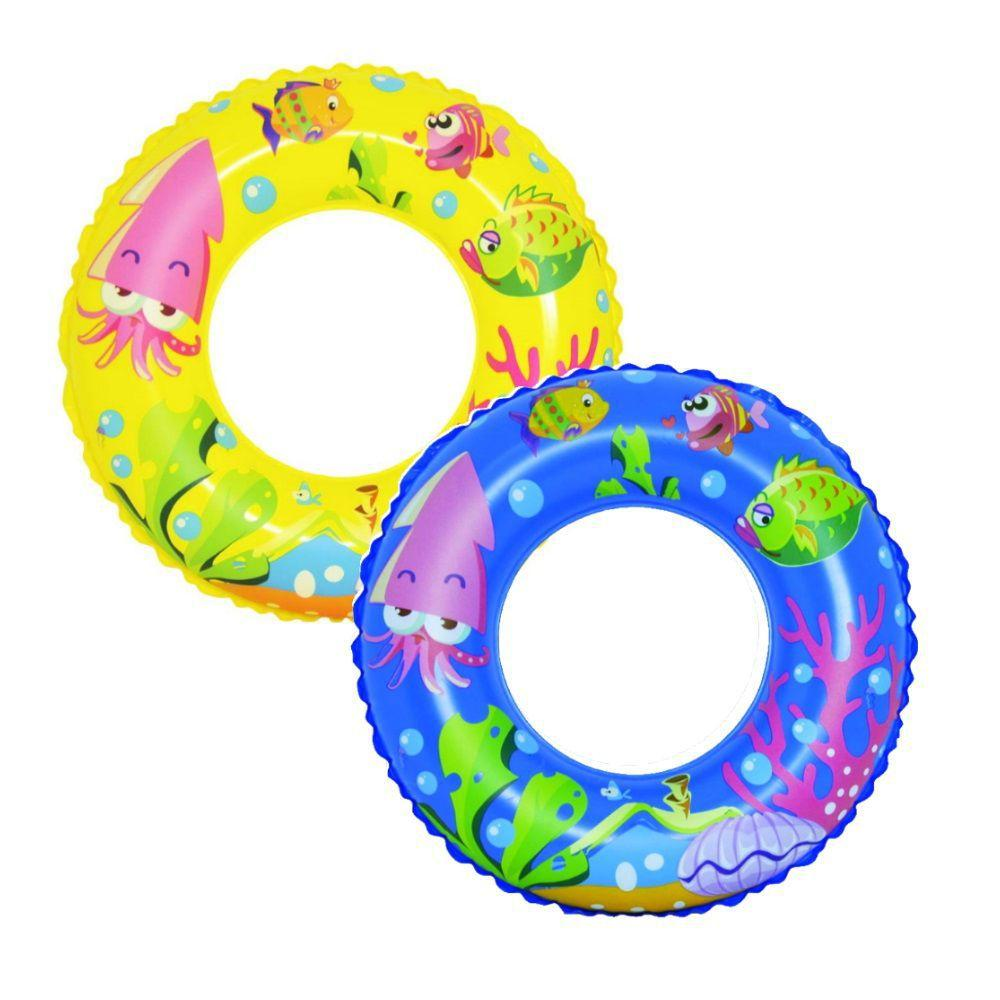 Boia De Cintura Infantil Peixinhos Piscina E Praia 55cm