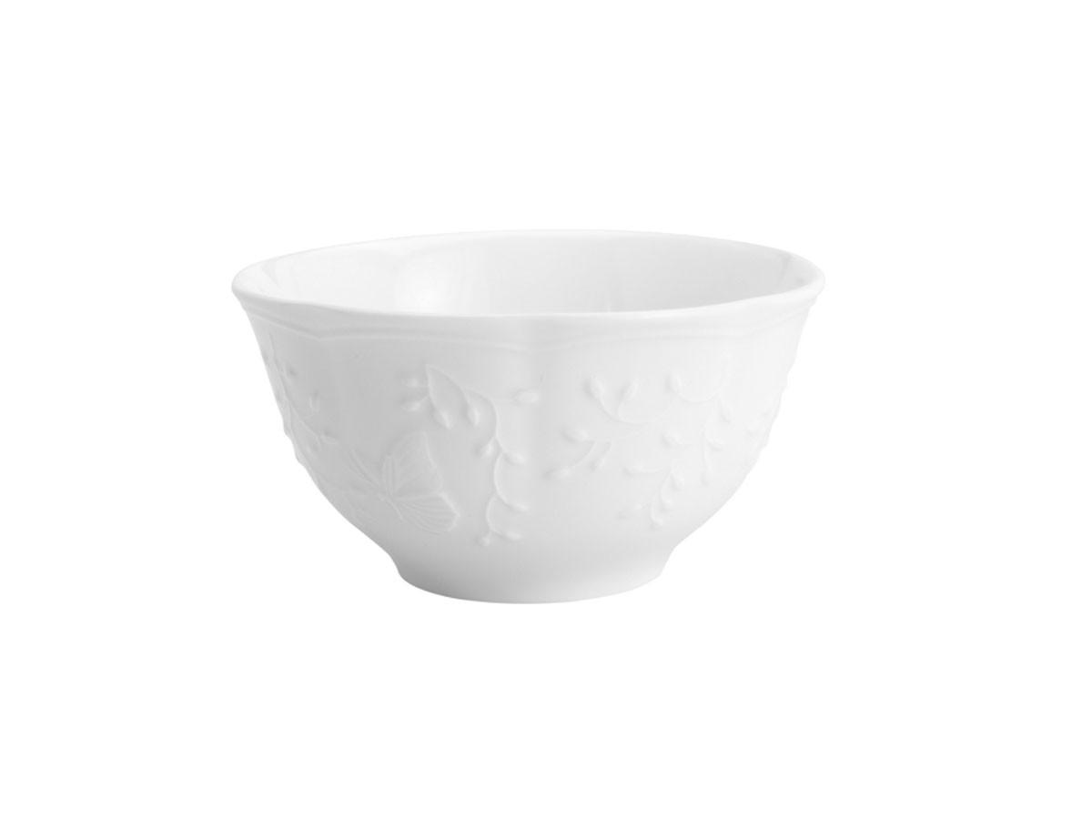 Bowl em porcelana Butterfly Flower - 14 x 14 x 7,5 cm