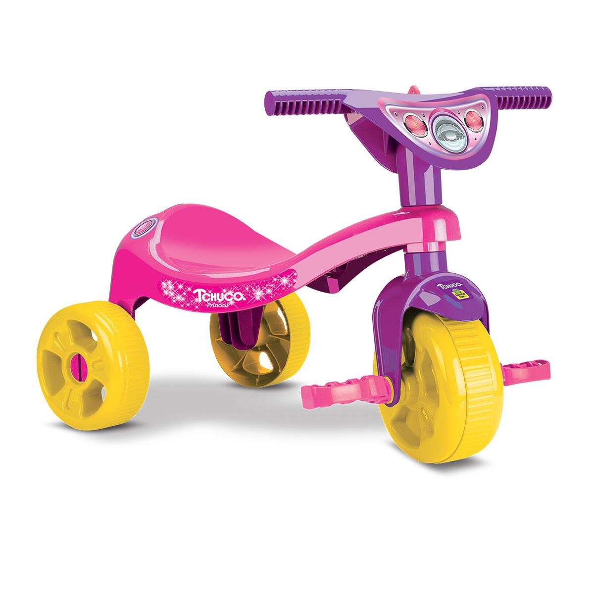 Brinquedo Motoquinha Triciclo Infantil Tchuco Princesa Judy