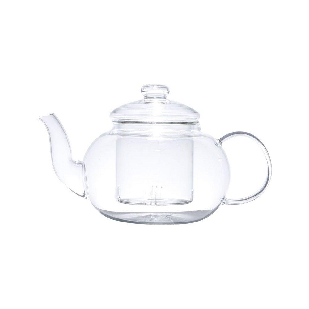 Bule Chaleira Com Infusor Vidro 800ml Para Chá Café Infusão
