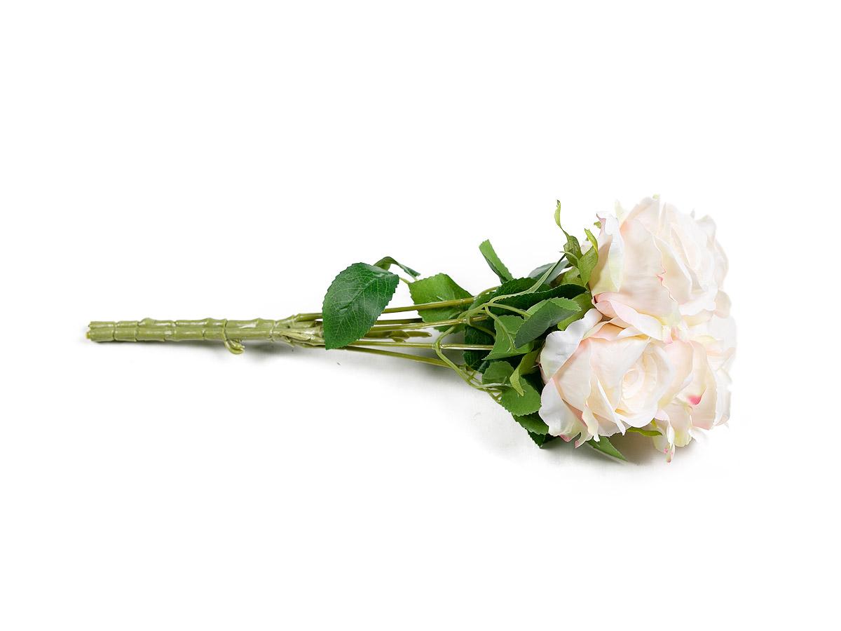 Buque Rosas X5 Champanhe 37CM