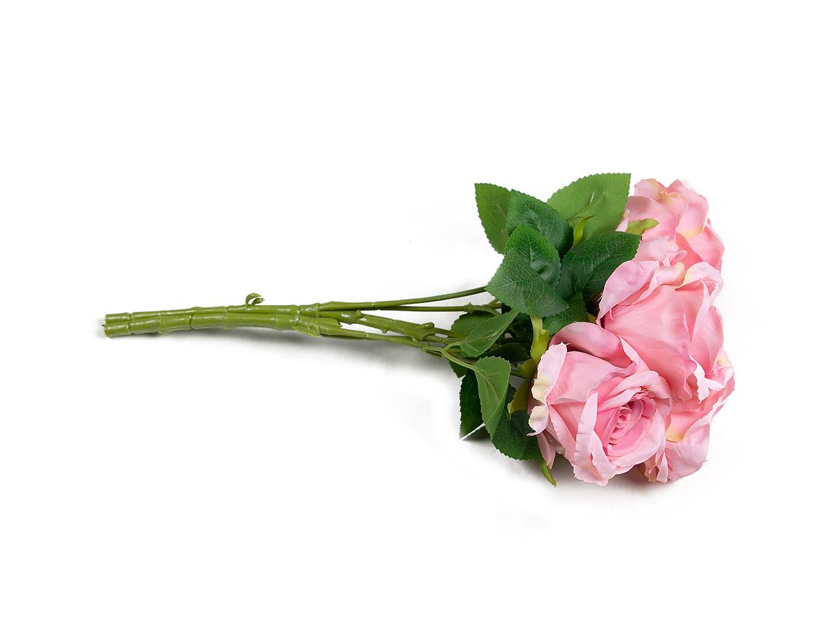 Buque Rosas X5 Rosa 37CM