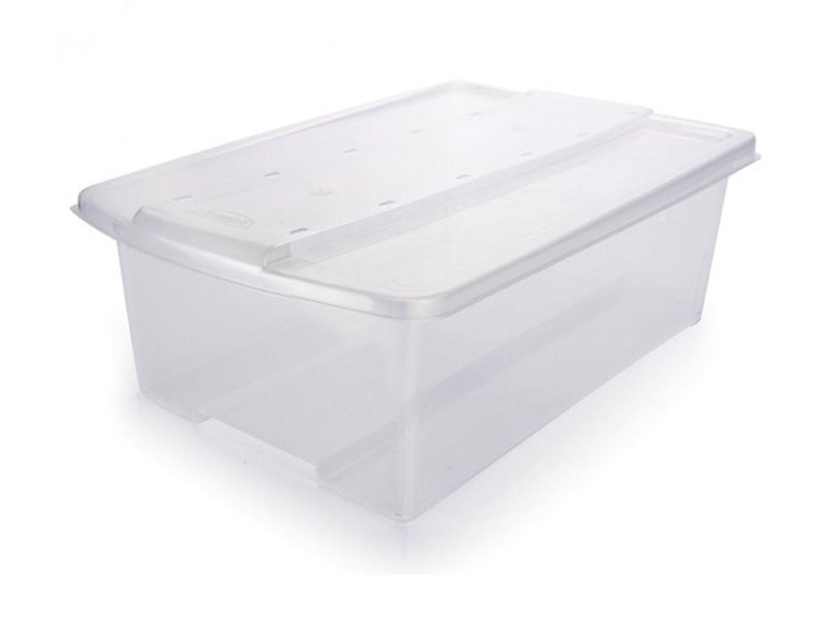 Caixa Plastica Organizadora Empilhavel 6L
