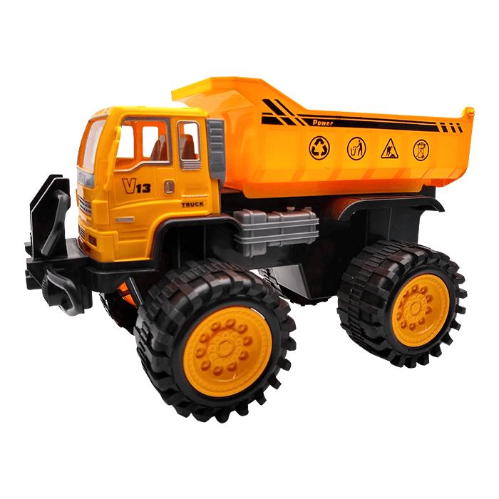 Caminhão Caçamba A Fricção Kit Com 2 Un