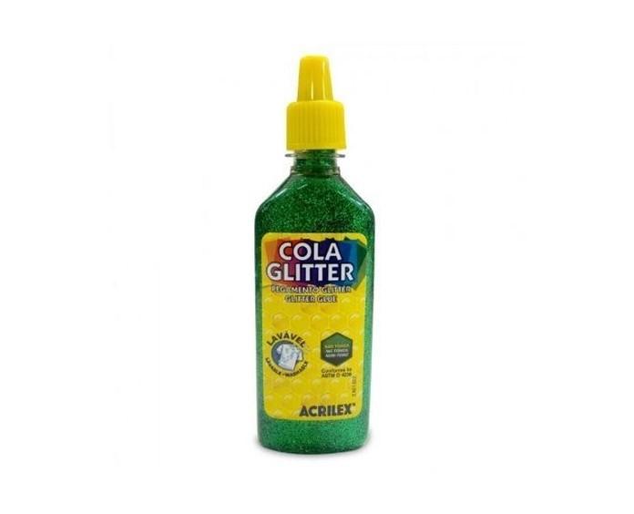 Cola Glitter Verde 3G Unidade