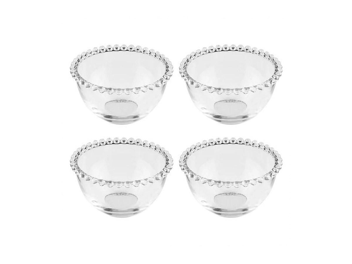 Conjunto 4 Bowls Cristal Pearl 14X8CM