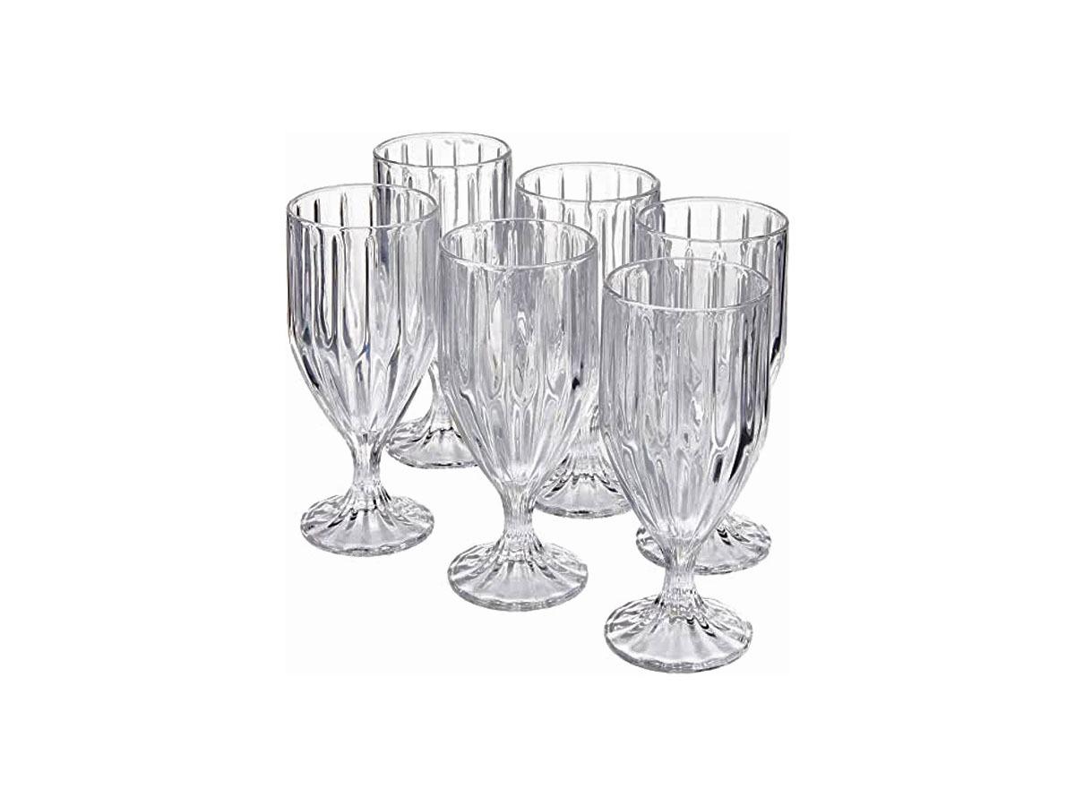 Conjunto De Taça Cristal Para Àgua Renaissence 370 ML
