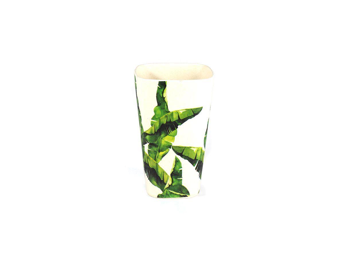 Copo em Fibra de Bambu estampa Bananeira - 13cm