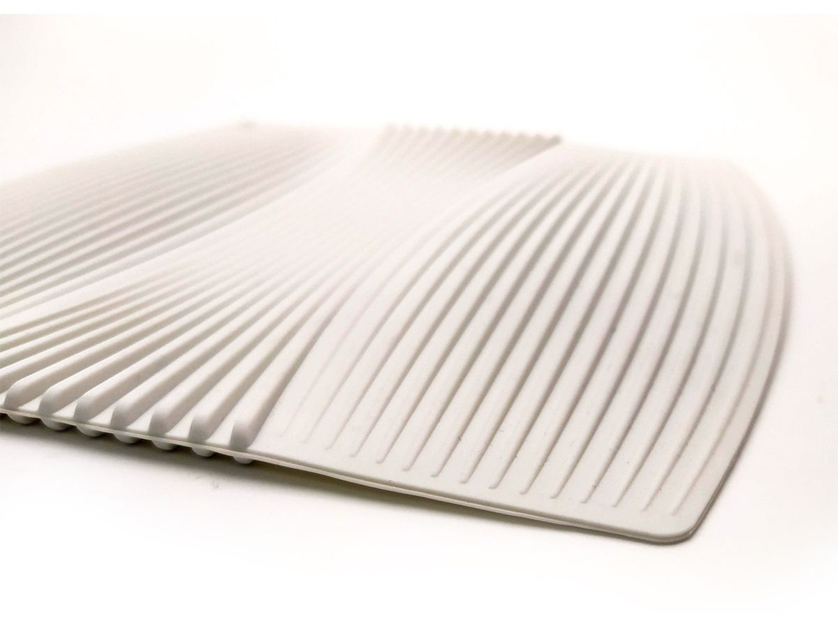 Descanso De Panela Em Silicone 20X20Cm Branco