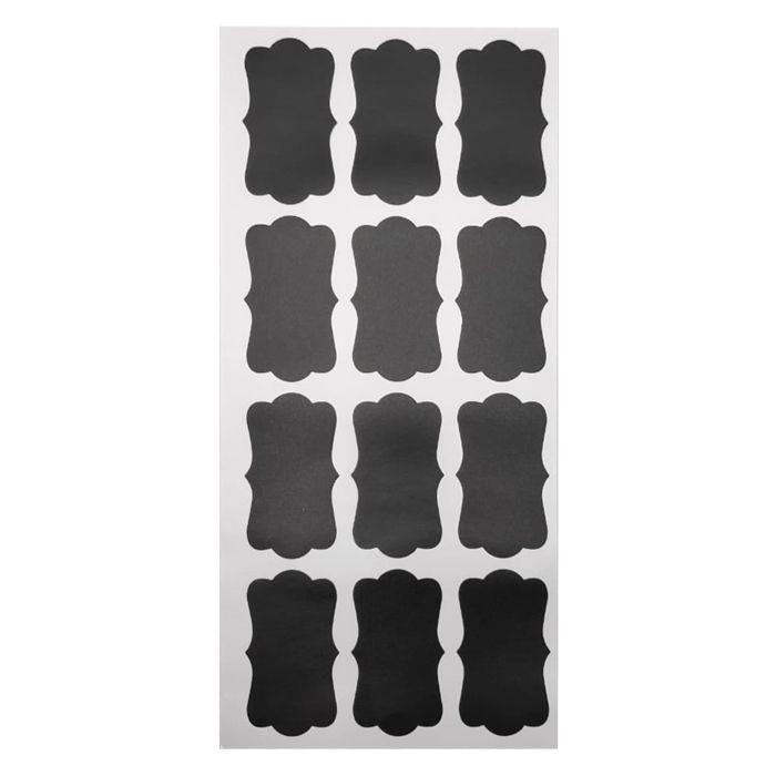 Etiqueta Adesiva Para Potes Chalkboard Labels C/ 12