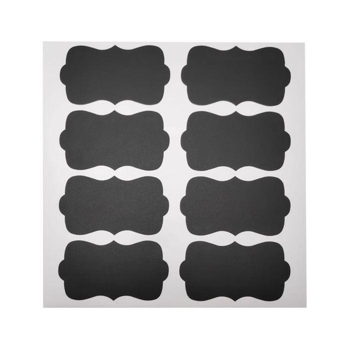 Etiqueta Adesiva Para Potes Chalkboard Labels C/ 8