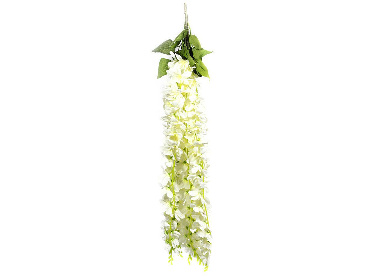 Flor Pendente X5 Galhos Branco 8002/4898