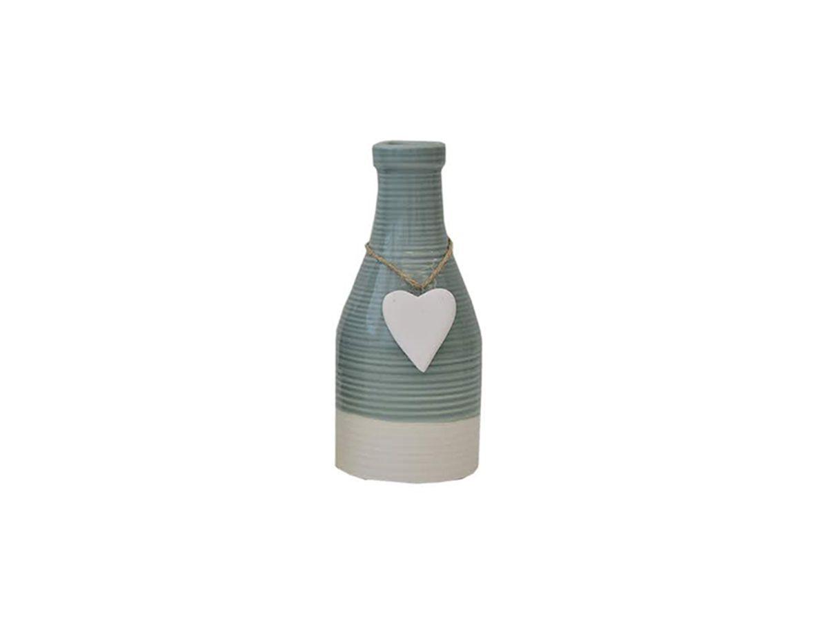 Garrafa Decorativa Em Porcelana 21,5 Cm