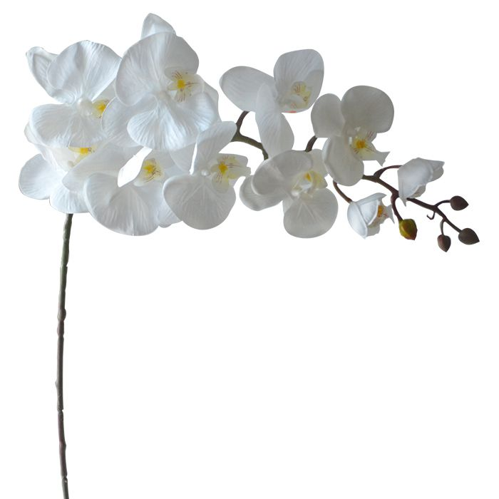 Haste Flor Artificial Orquídea Phalaenopsis