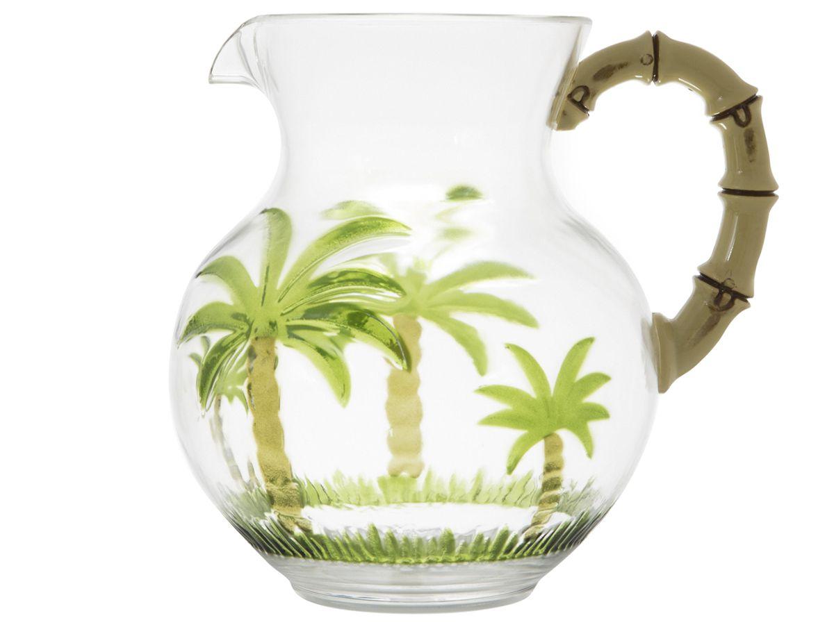 Jarra De Acrilico Palm Tree Coqueiro 2,7 Litros