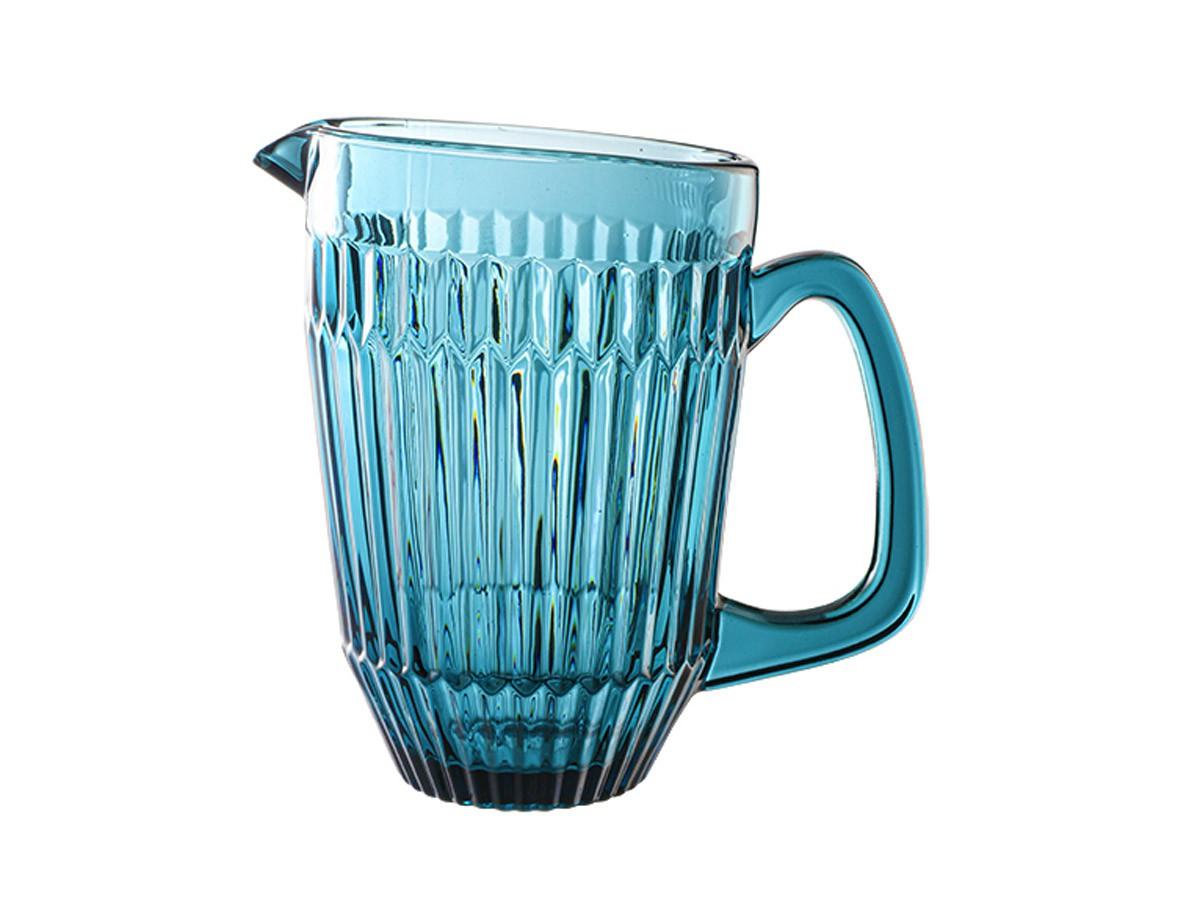 Jarra em vidro azul Bretagne - 1,6 L