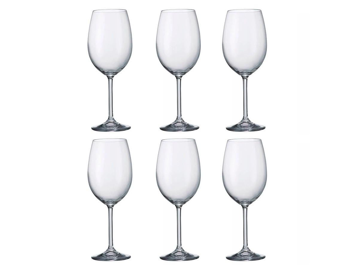 Jogo 6 Taças Cristal Ecológico Vinho Branco 350 ml