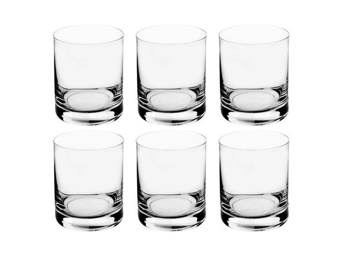 Jogo Copos WHISKY Barware Cristal 320 Ml Com 6 Unidades