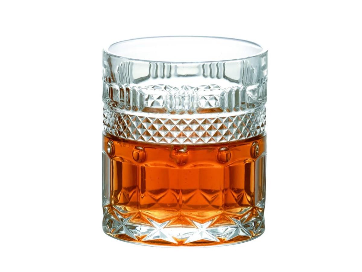 Jogo de 06 copos Clássica baixo em cristal ecológico L'Hermitage - 330 ml