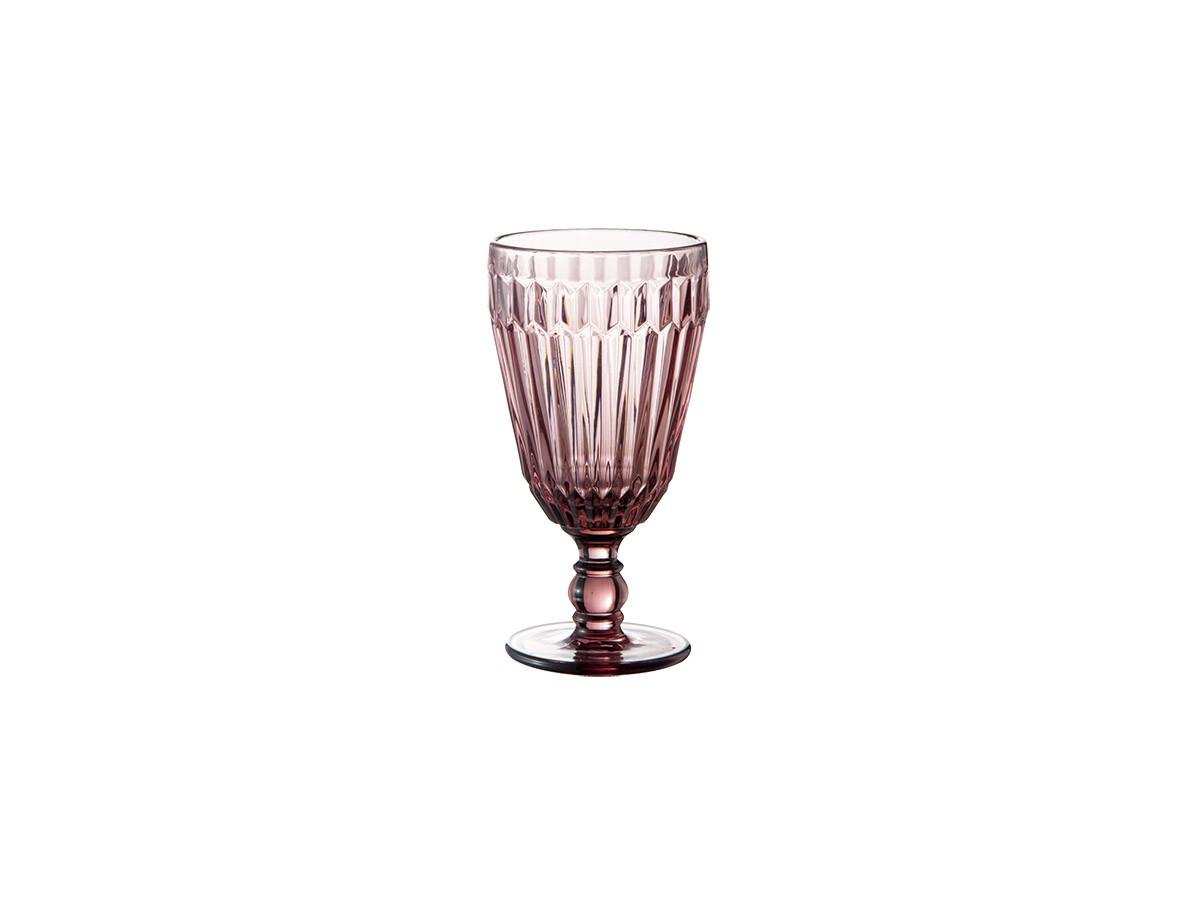 Jogo de 06 taças Bretagne em vidro Roxo - 330 ml