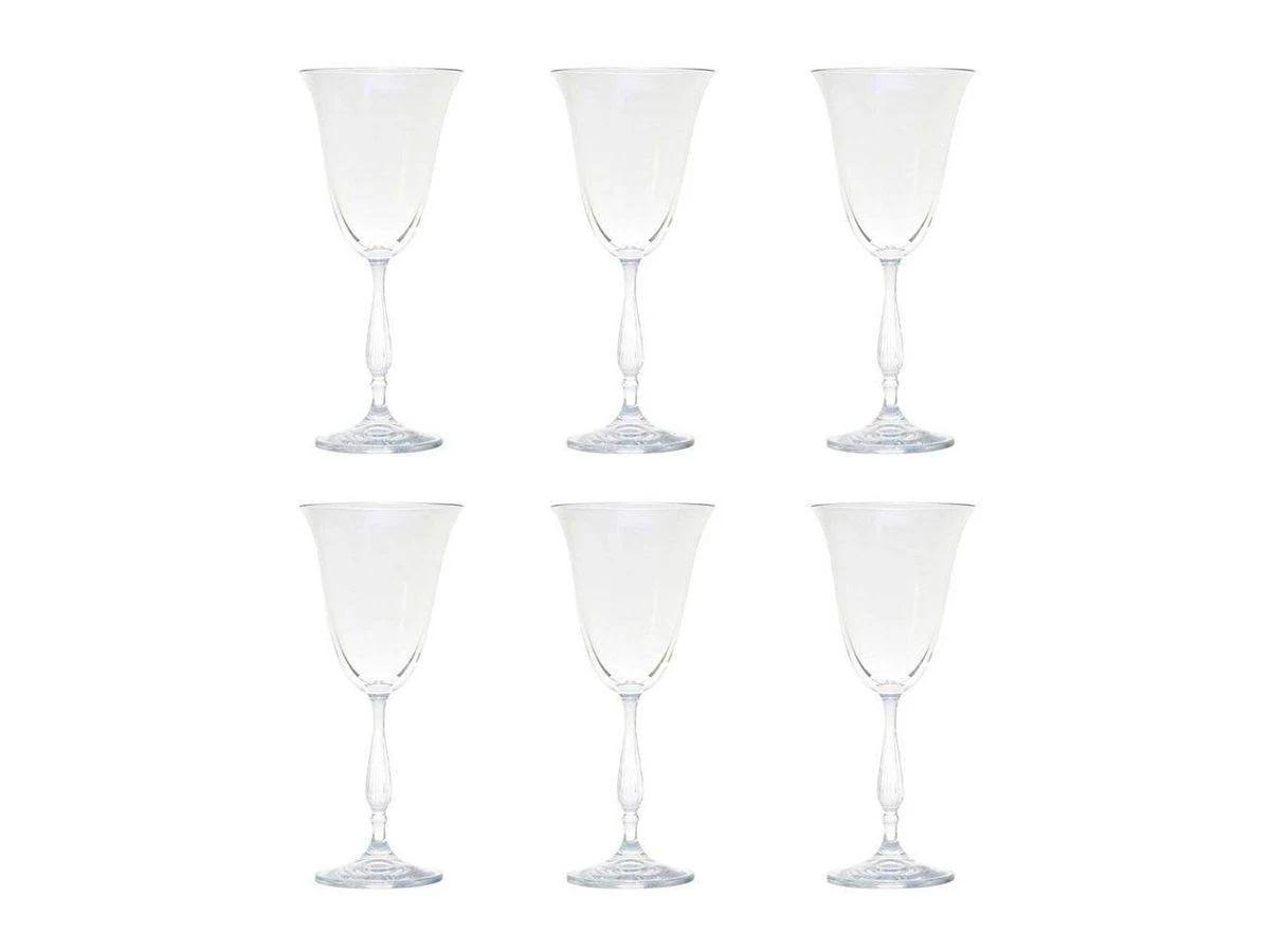 Jogo De Taças Para Vinho Tinto Antik Cristal 6Pçs 250ml