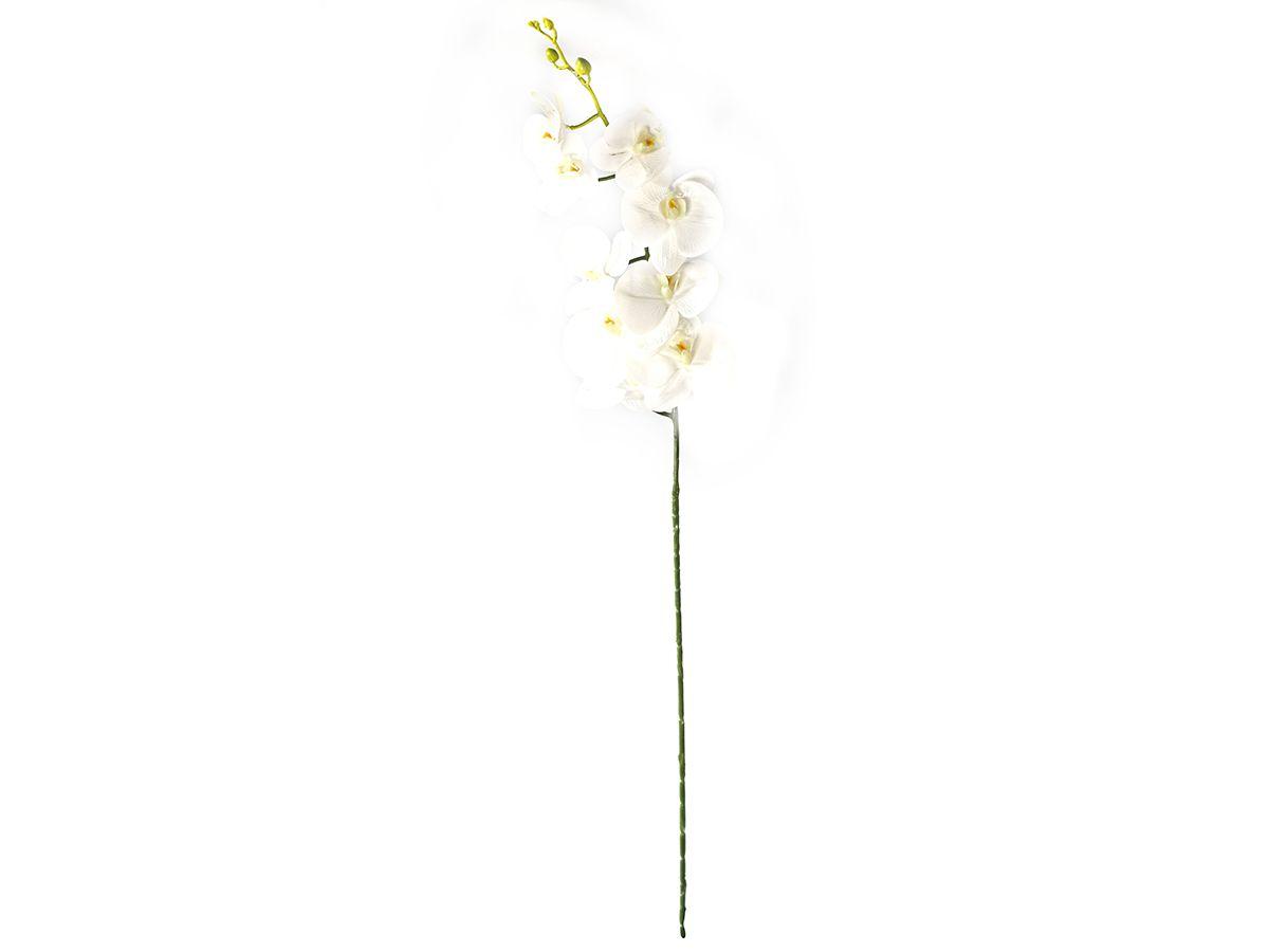 Kit 6 Haste Orquidea Phalaenopsis Branca X9 100cm