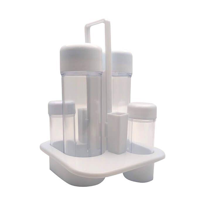 Kit Galheteiro Em Plástico Com 5 Peças