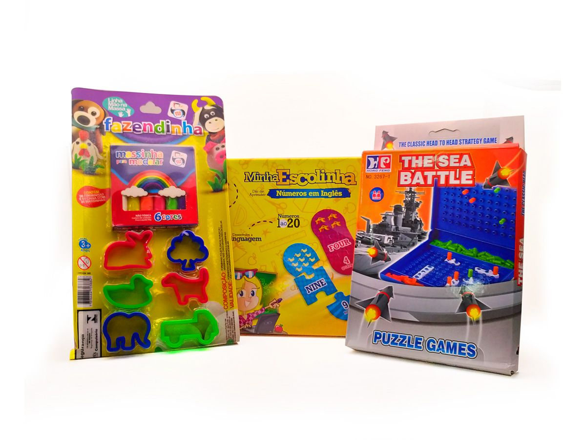 Kit Jogo Infantil Educativo 3