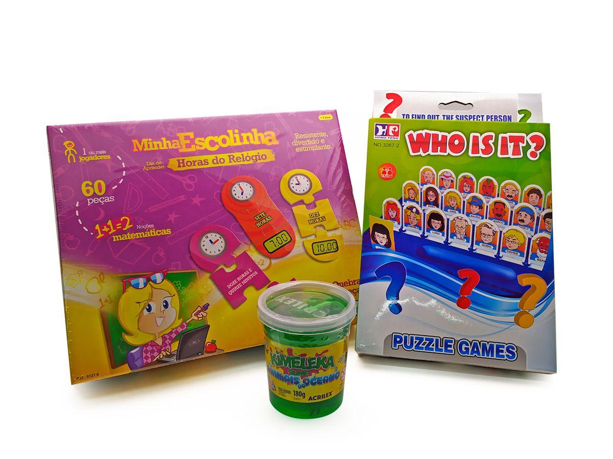 Kit Jogo Infantil Educativo 4
