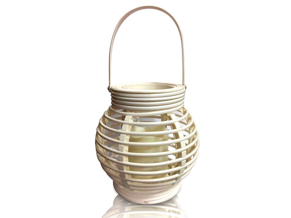 Lanterna Marroquina Lamparina Com Vela Led