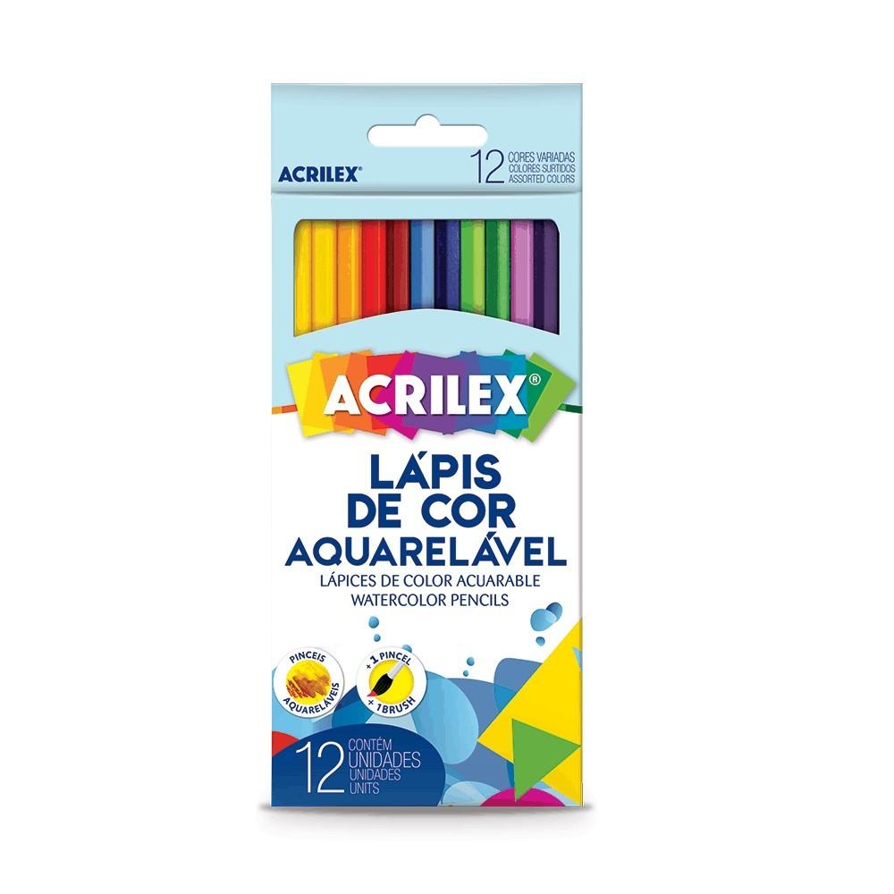 Lapis De Cor Aquarelavel C/12Cores