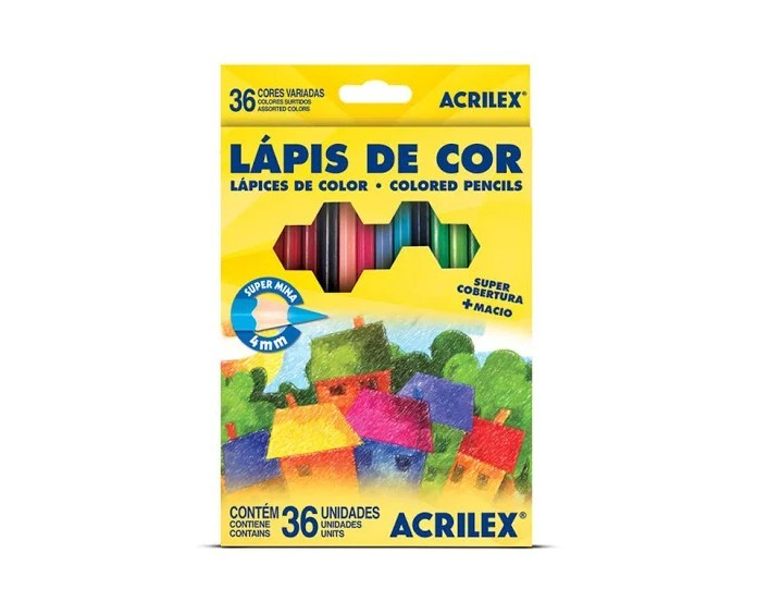 Lapis De Cor C/36 Cores