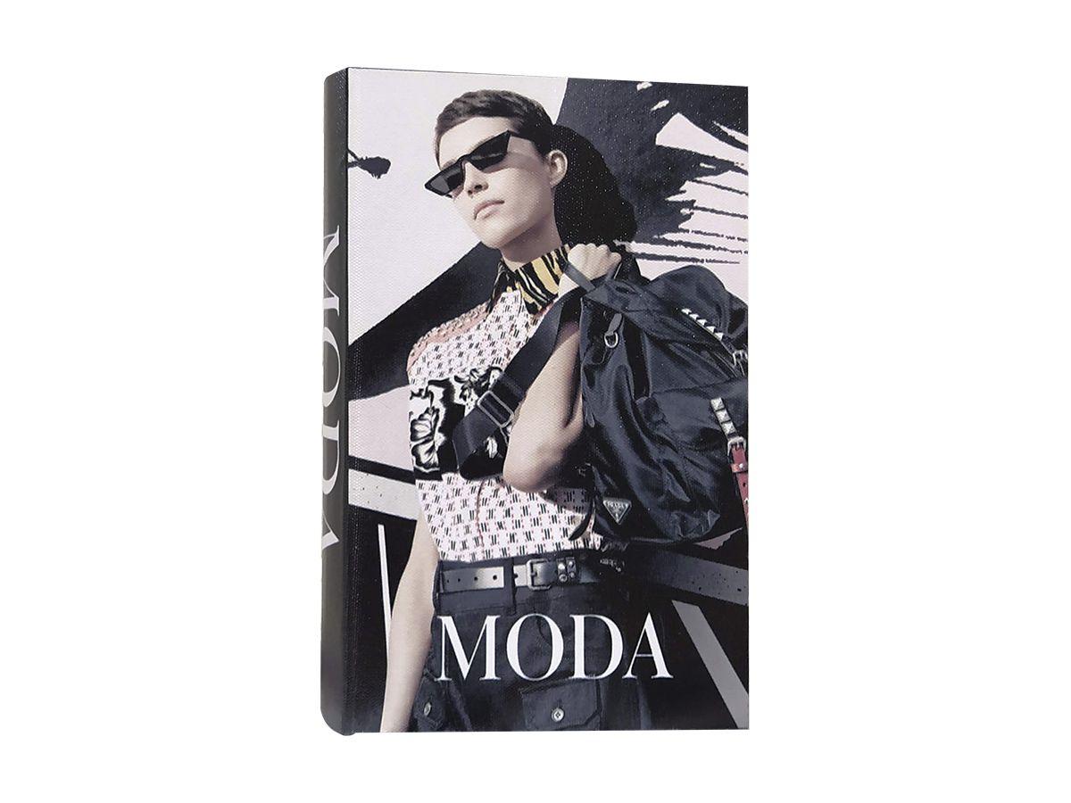 Livro Caixa De Madeira Moda M 30X22X6,5 Cm